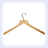 Shaped (Square Neck) Tops Hanger (Box 100)